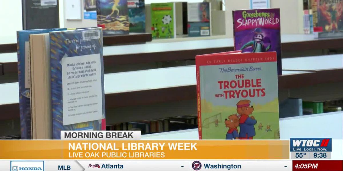 Share your stories during National Library Week