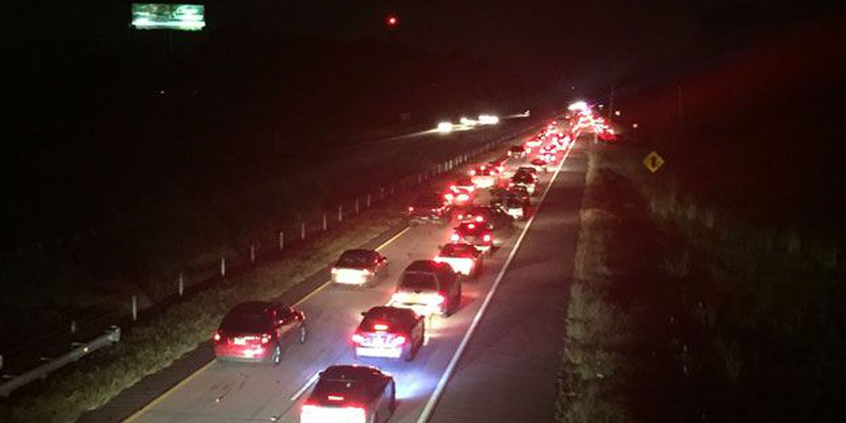 Traffic cleared on I-16 EB after major delays