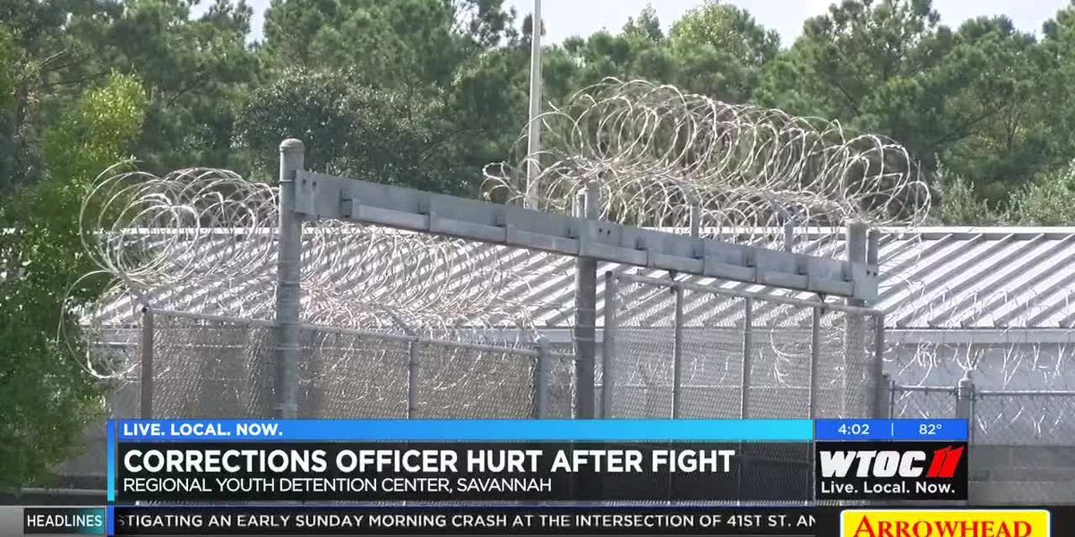 Corrections officer hurt after fight at youth detention center