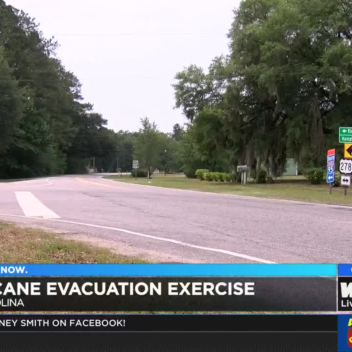 Hurricane evacuation exercise held in SC