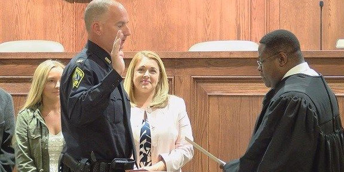 Pooler city councilman sworn in as new police chief