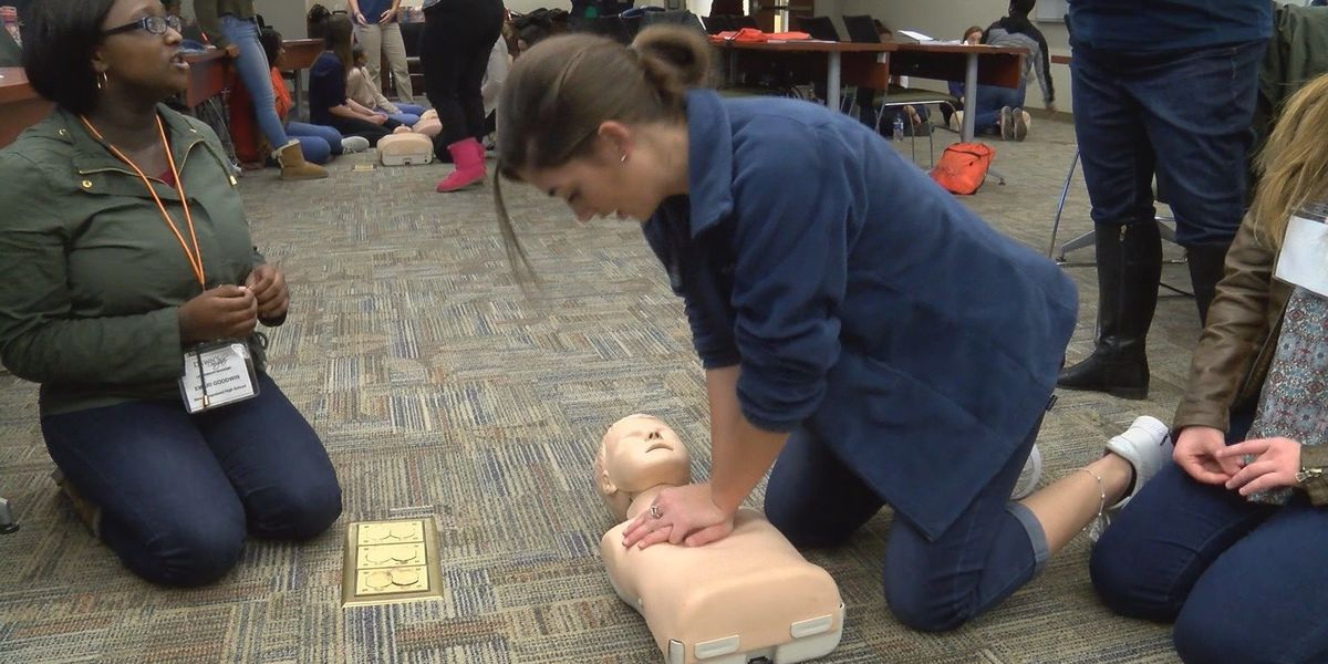 Dawn's Daughters learn lifesaving techniques during quarterly meeting