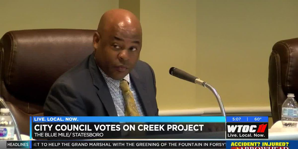 Statesboro City Council votes on creek project