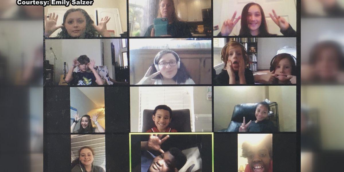 Savannah Children's Choir continues to meet through virtual means