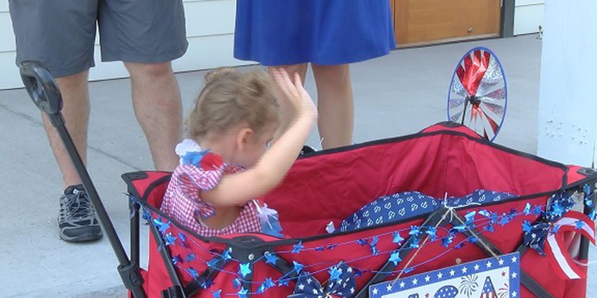 Lowcountry families participate in Bluffton Children's Parade