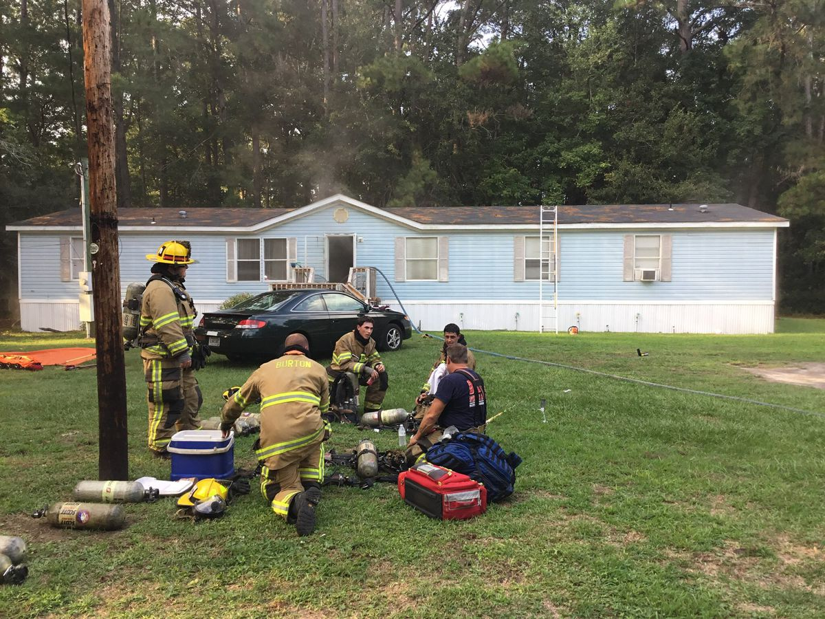 One person burned in house fire on Laurel Street in Beaufort Co.