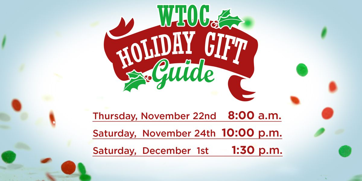 Watch the first showing of the 2018 Holiday Gift Guide on Thanksgiving morning