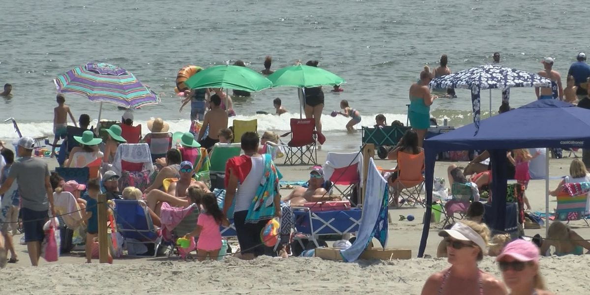 Tybee Island packed for the holiday weekend even with rising gas prices