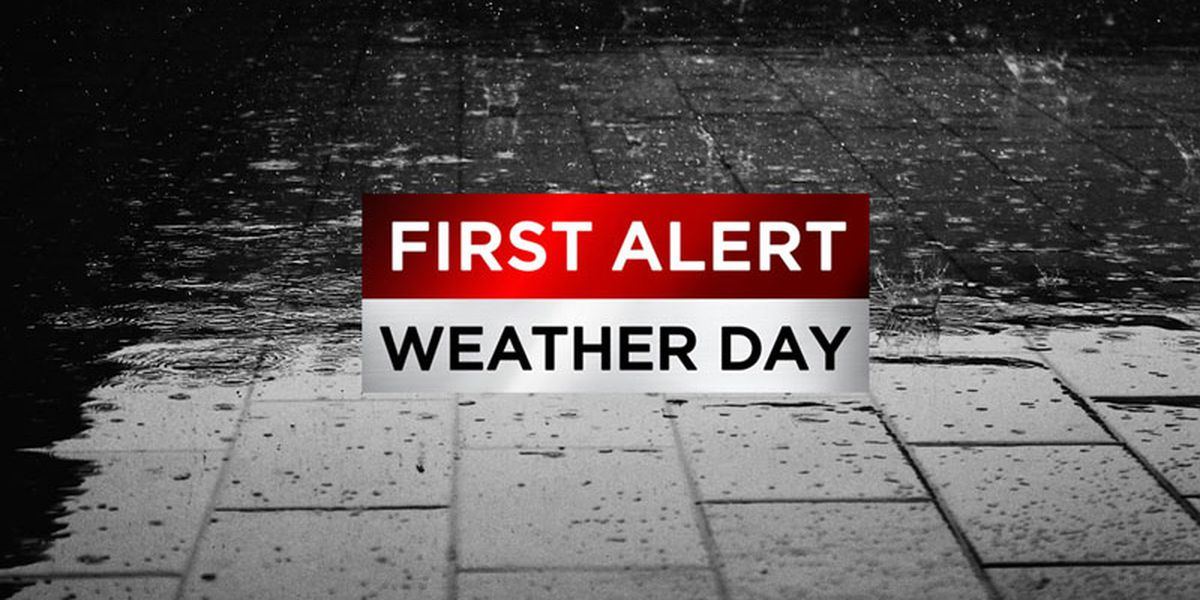 First Alert Weather Days: Rain, storms give way to coldest Christmas afternoon since 2004