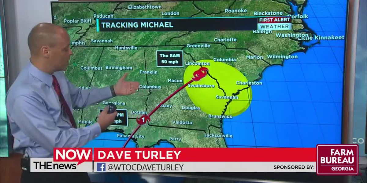 For the latest on Hurricane Michael, join WTOC Dave Turley on THE Weather Now at 11.