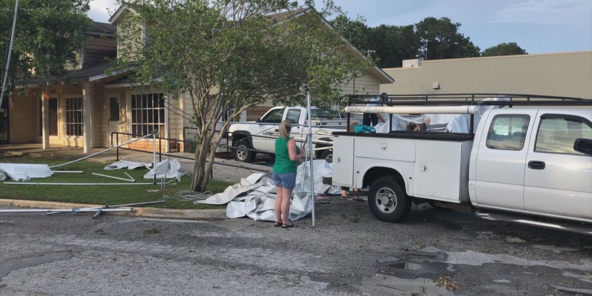 Employees of Wilmington Island businesses speak on tornado aftermath