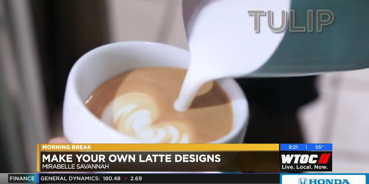 Make your own latte designs