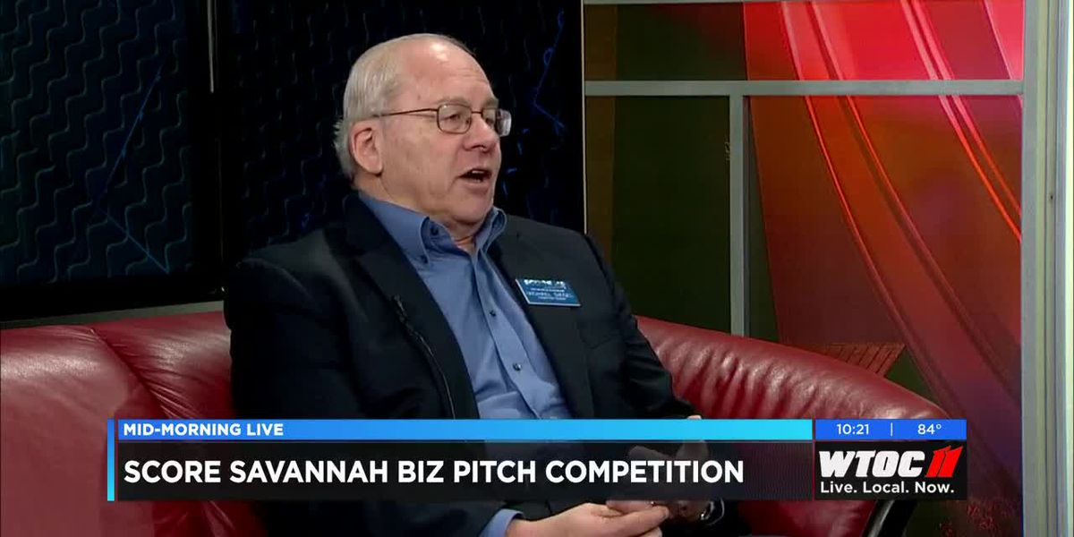 SCORE Savannah president Michael Siegle talks about SCORE's Biz-Pitch competition