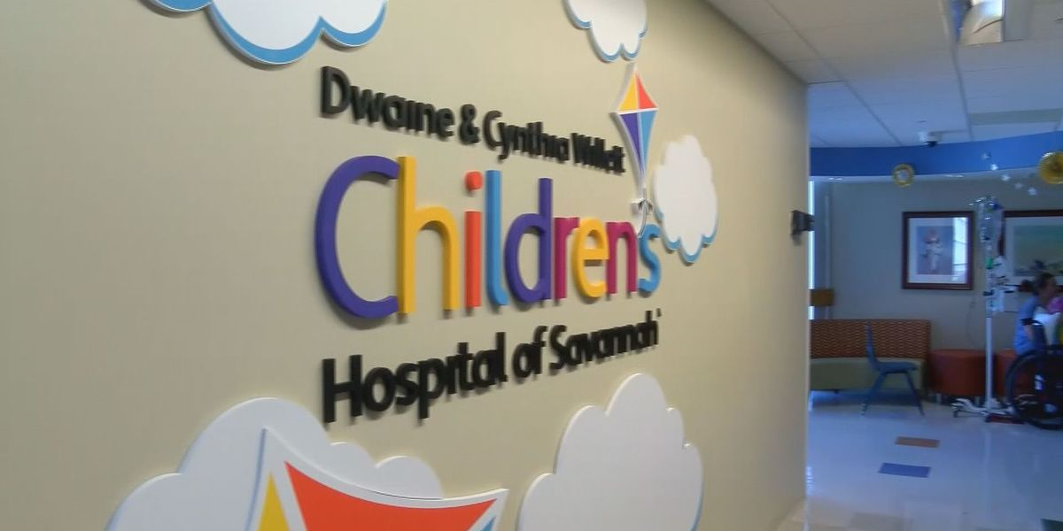 Exclusive look at the Dwaine and Cynthia Willett Children's Hospital of Savannah