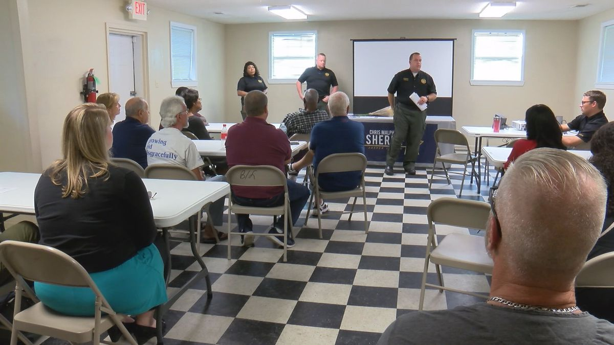 Rash of crime in Jasper Co. leads to community meeting
