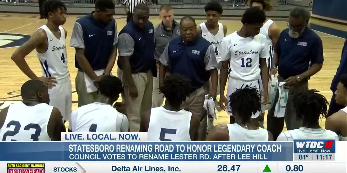 Statesboro council votes to rename Lester Rd. after legendary coach Lee Hill