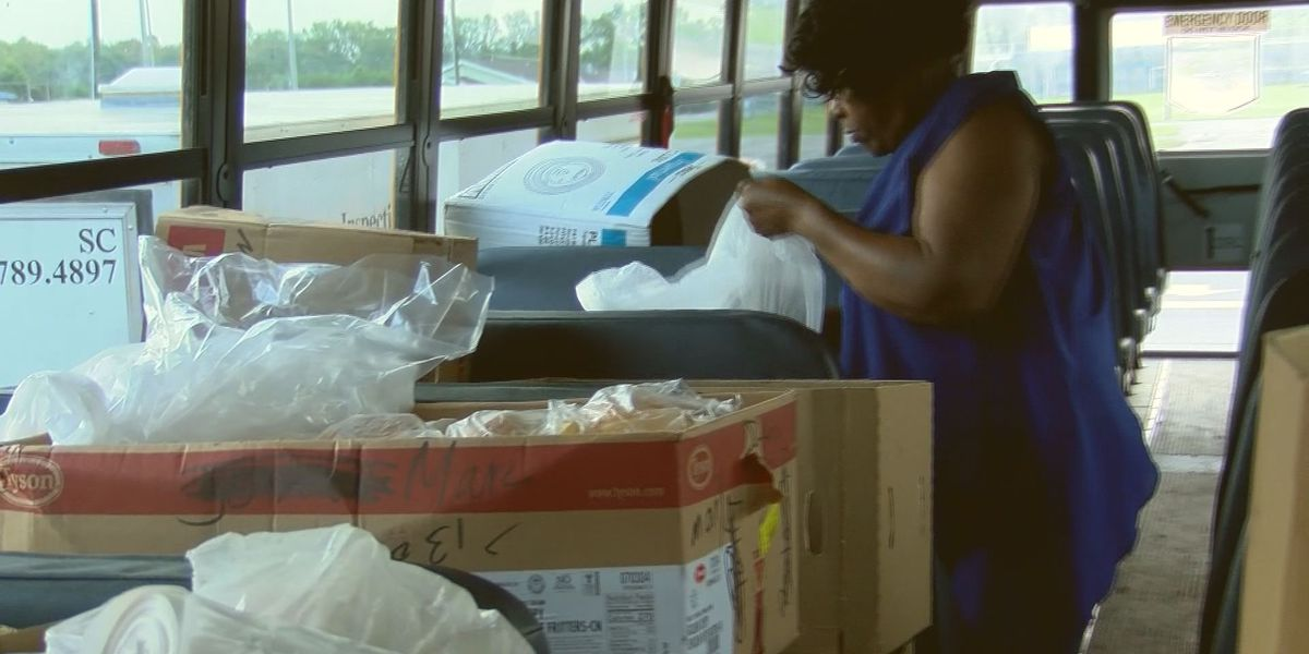 Beaufort County School District providing meals to students through June