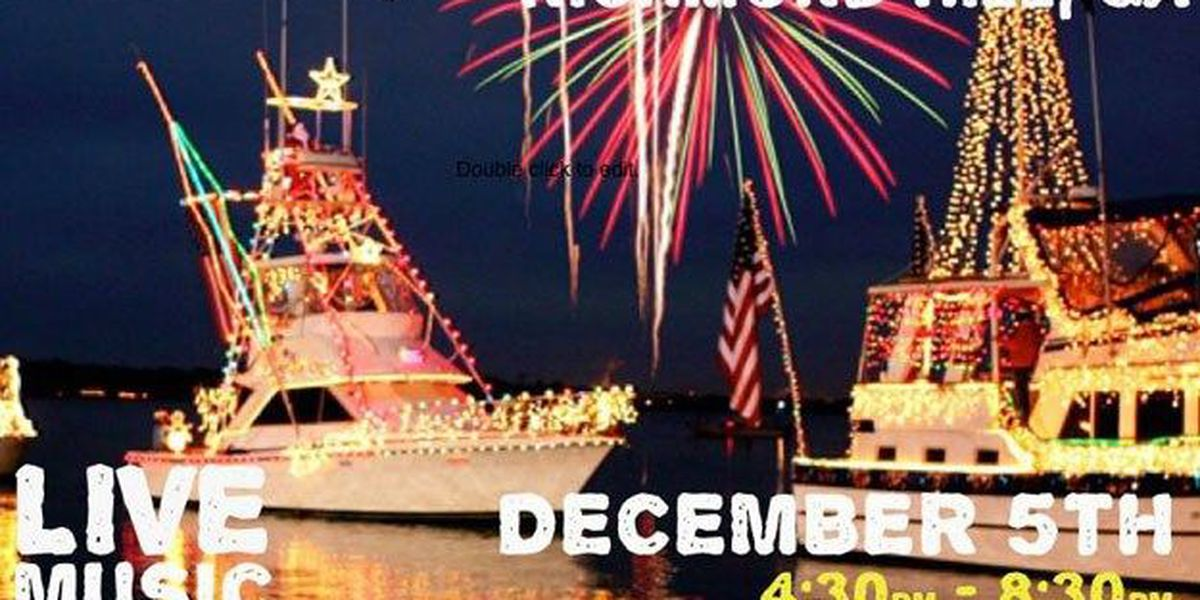 Lighted Boat Parade to brighten the holidays