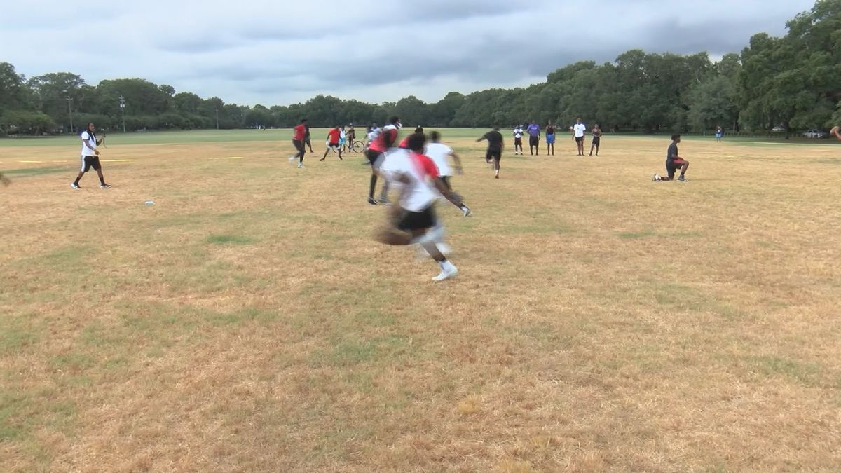 Good News: 17-year-old starts football league for middle schoolers