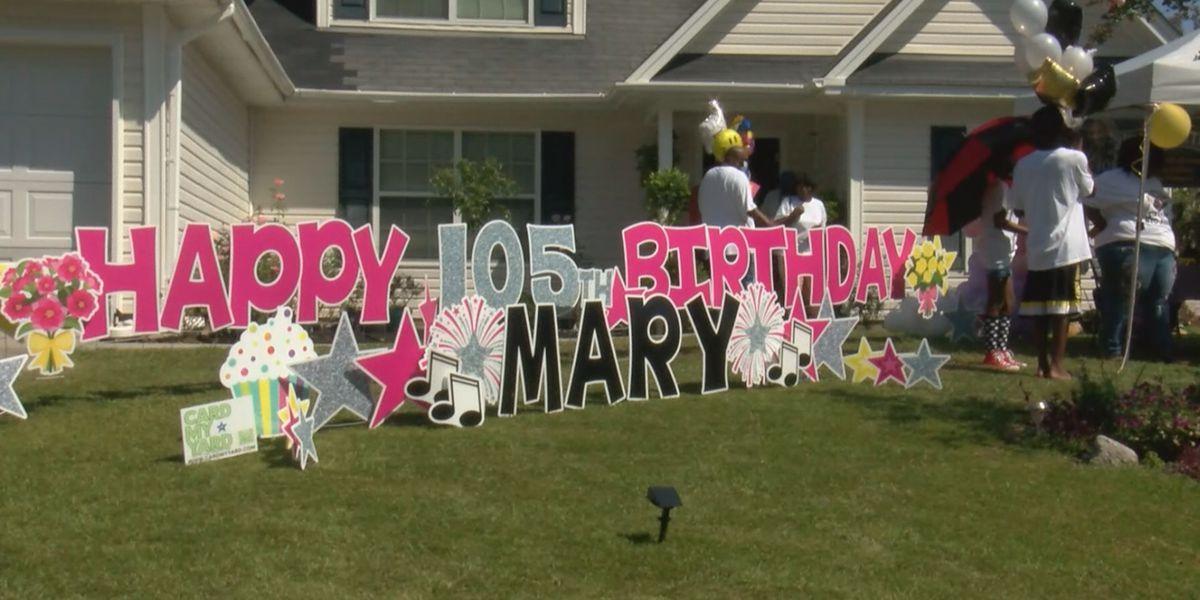 Port Wentworth's Mary Jackson celebrates her 105th birthday