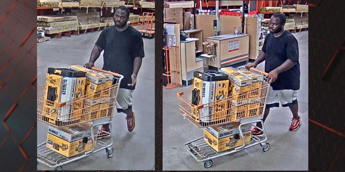 Savannah Police seek public's help identifying Home Depot shoplifting suspect