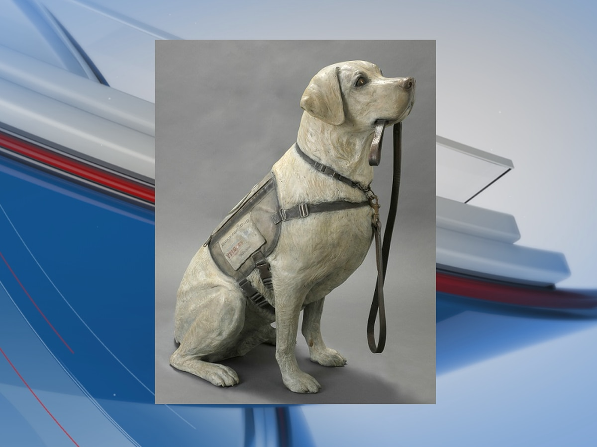 Statue of President George H. W. Bush's service dog to sit in presidential library
