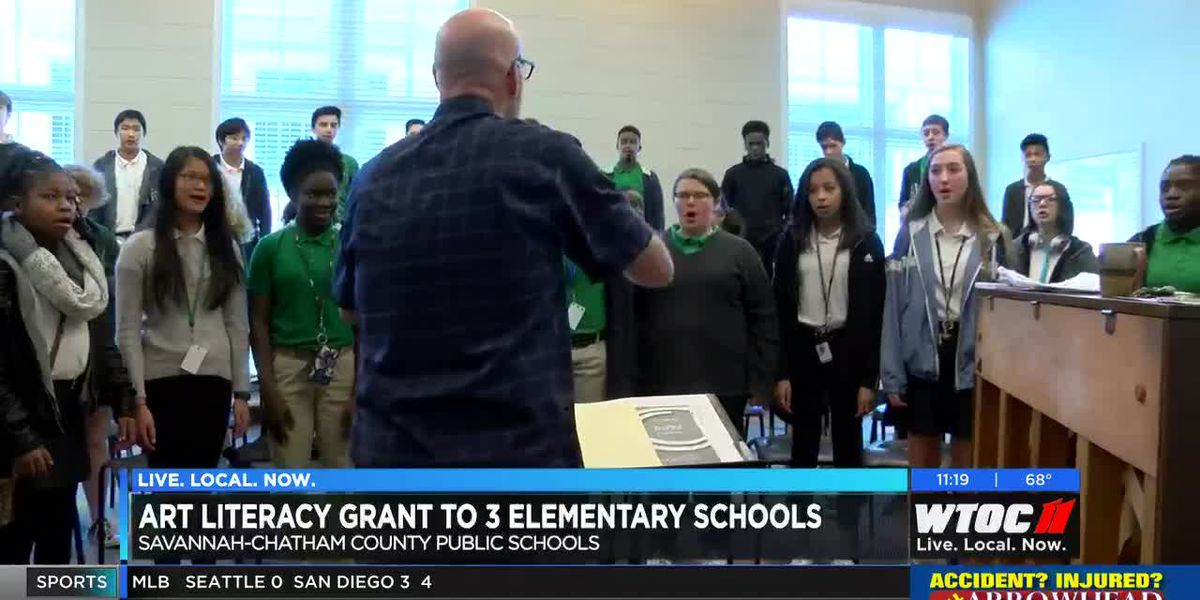 3 Savannah-Chatham schools receive art literacy grant