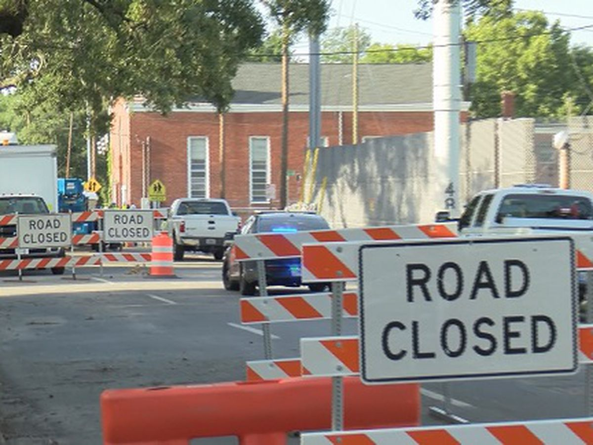 Closures on East Broad, Bolton St. to continue for another week