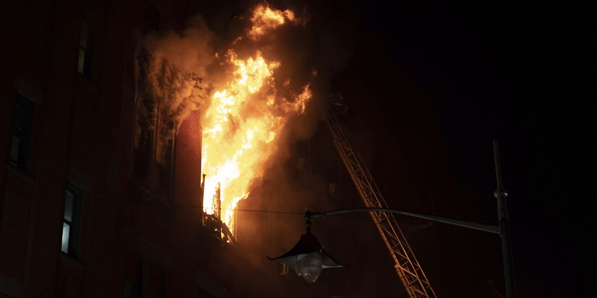 85,000 museum artifacts feared lost in NYC Chinatown fire