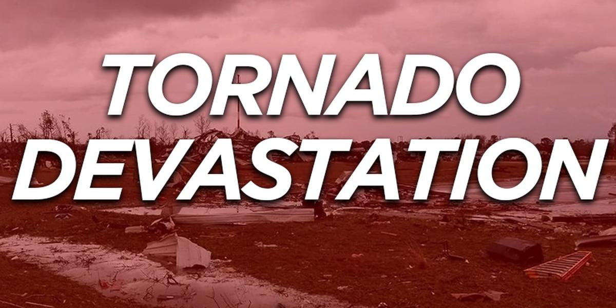 WATCH: Sky Alert 9 tours tornado damage in the Beauregard community of Lee Co., AL