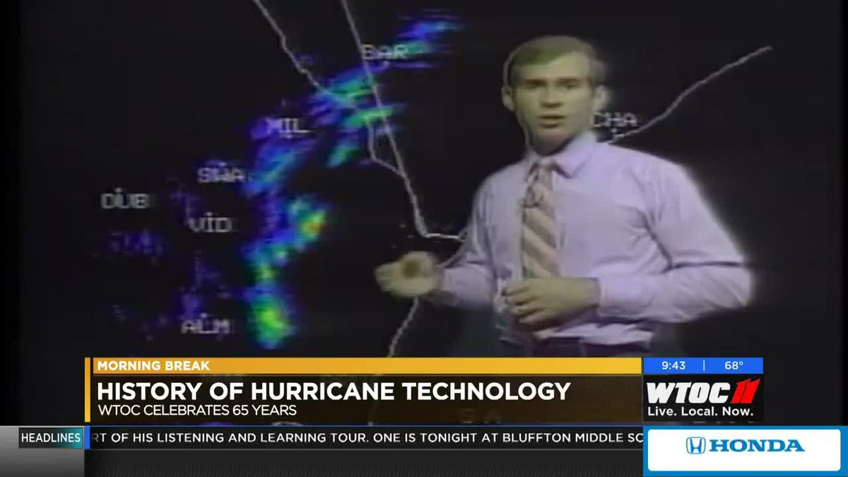 WTOC at 65: Hurricane tracking changes