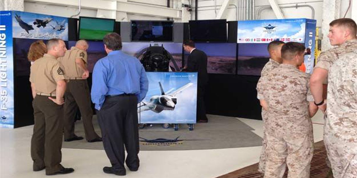 MCAS Beaufort welcomes back F35B squadron