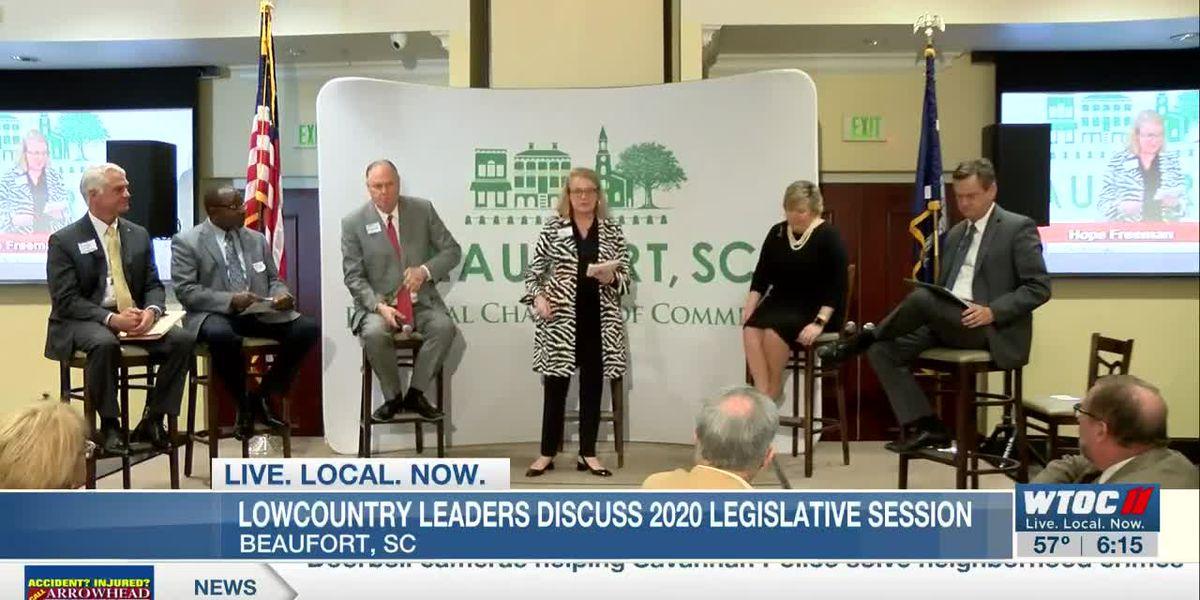 South Carolina legislative members meet with local business owners
