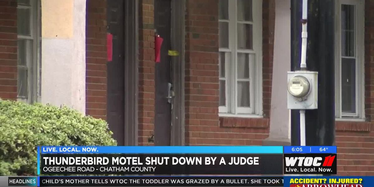 Thunderbolt Motel shut down by judge