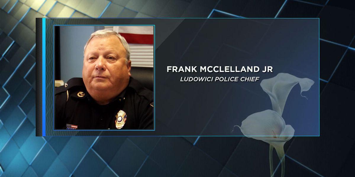 Motorcade for Chief McClelland