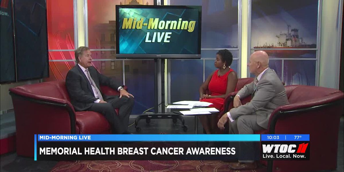 Memorial Health promotes breast cancer awareness