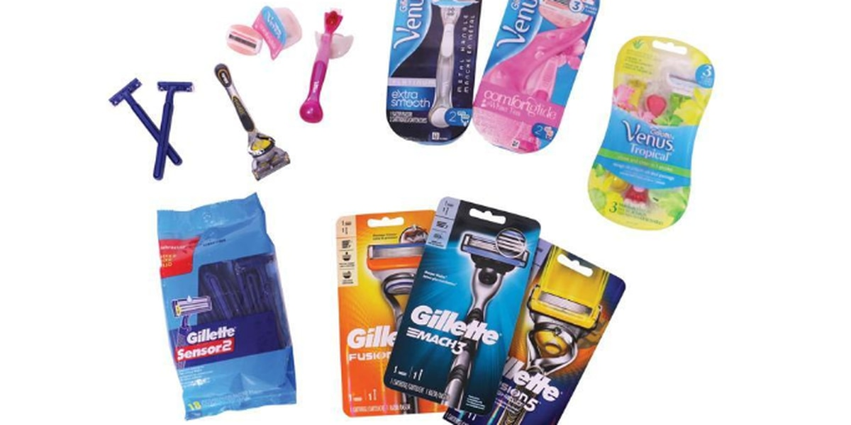 Gillette launches recycling campaign to keep razors out of landfills