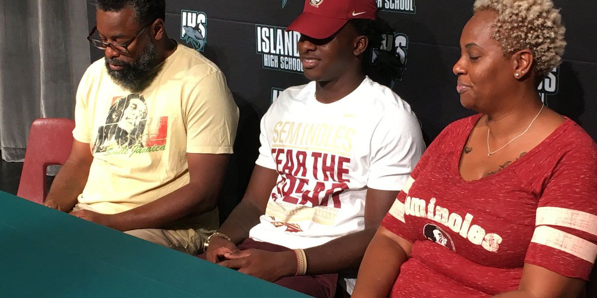 Islands High School linebacker commits to Florida State University