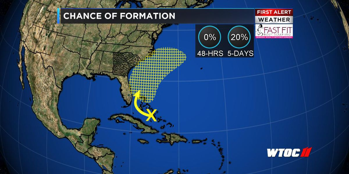 Southwest Atlantic storminess has a low risk of tropical development