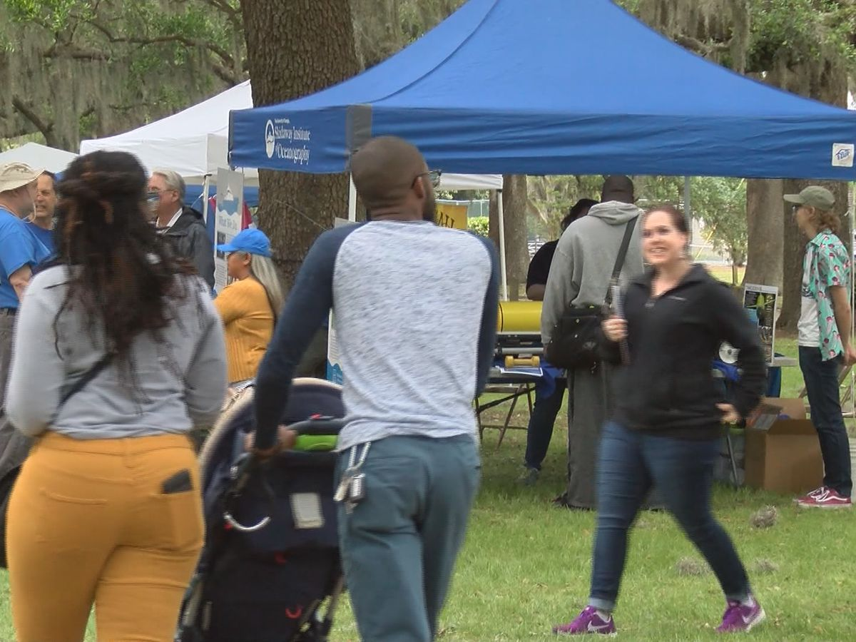 Savannah celebrates Earth Day in Daffin Park