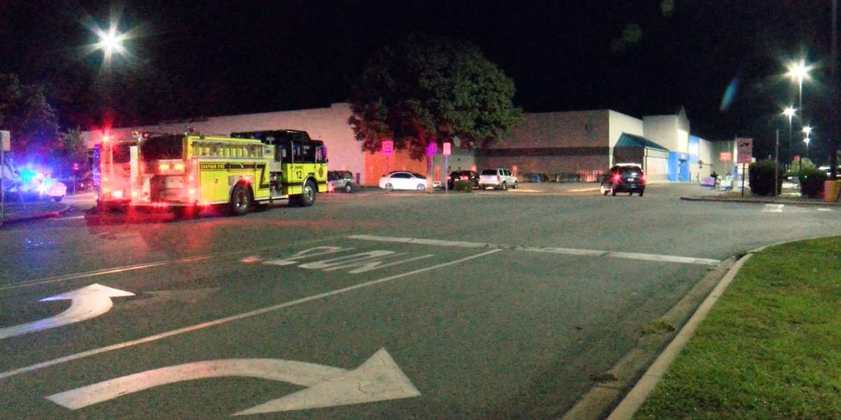 Emergency crews respond to situation at Walmart on Ogeechee Rd.