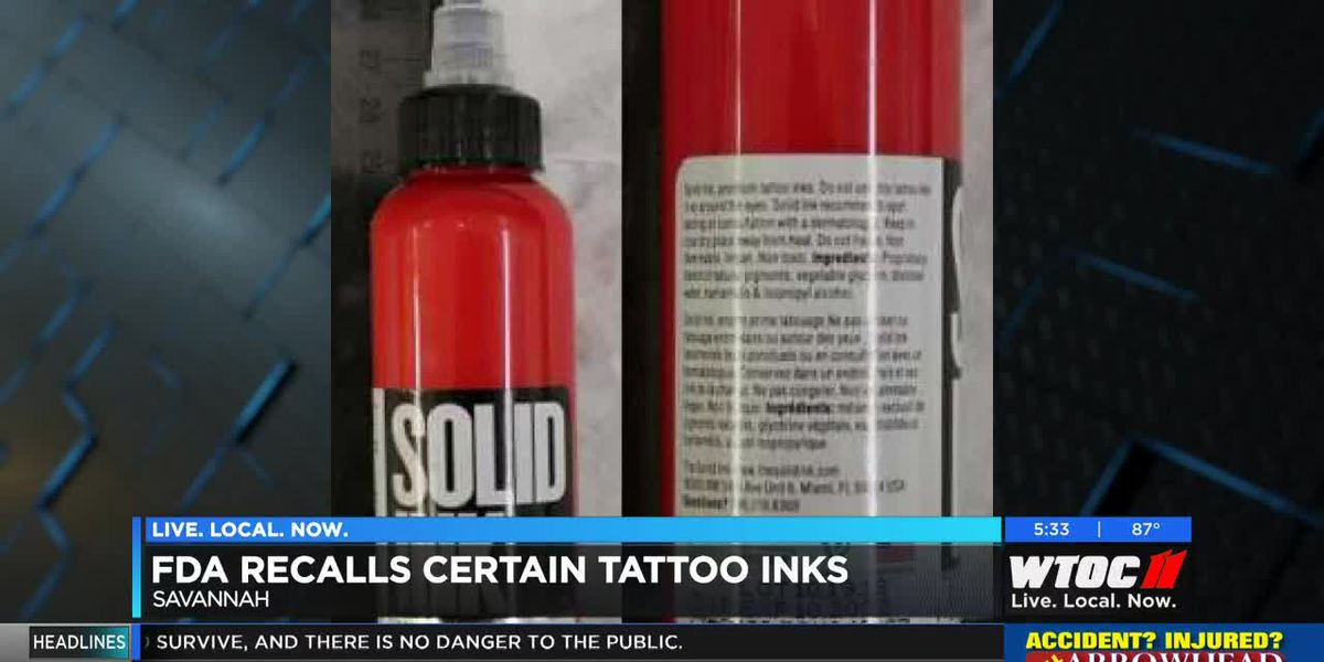 Local tattoo artists weigh in on FDA's recall of certain tattoo inks
