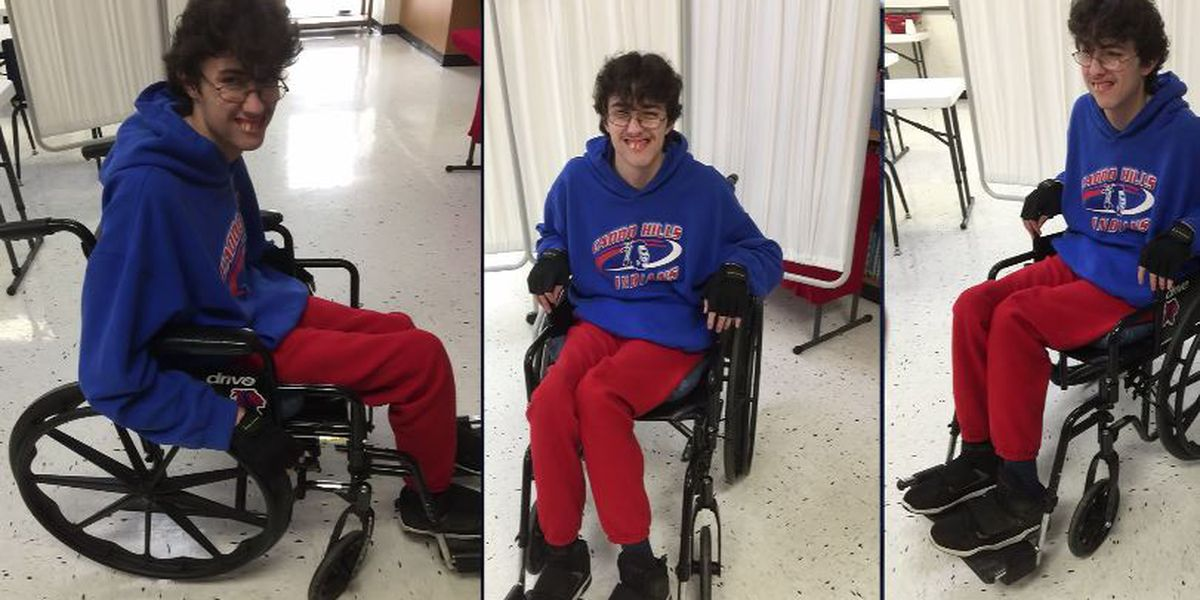 Arkansas teen saves for years to surprise friend with new wheelchair