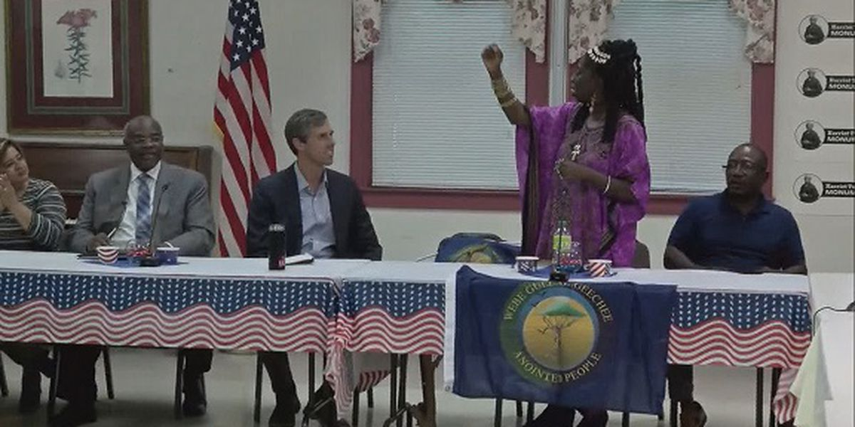 Beto O'Rourke campaigning in South Carolina