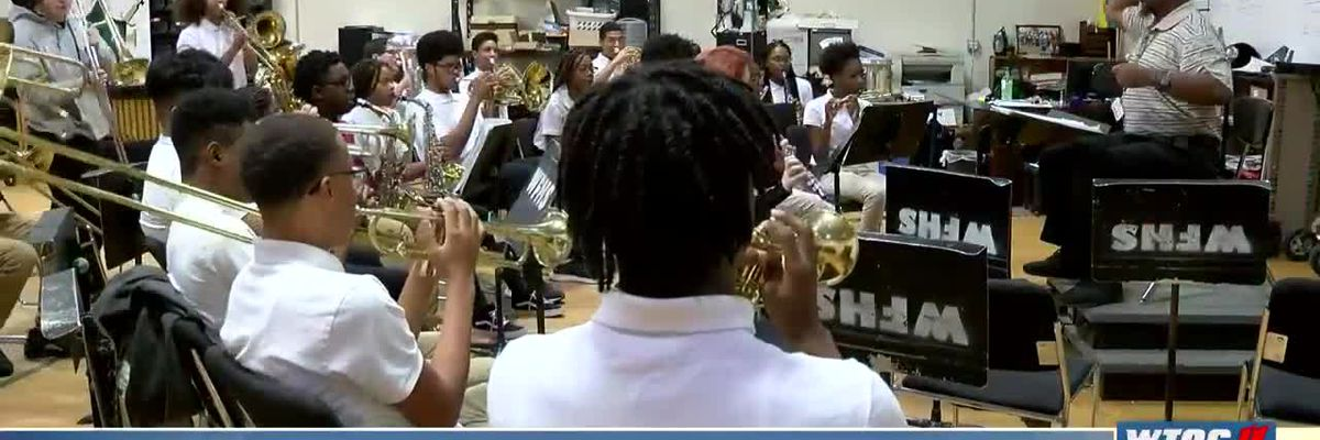 Windsor Forest High School Band headed to NOLA for Mardi Gras parade