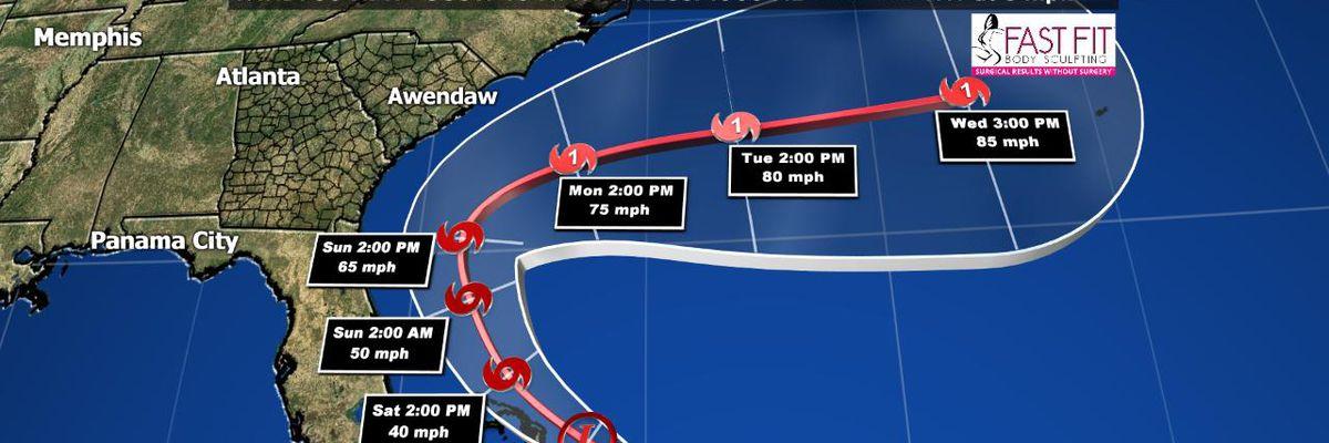 Tropical Depression 9 forms in the Atlantic Ocean