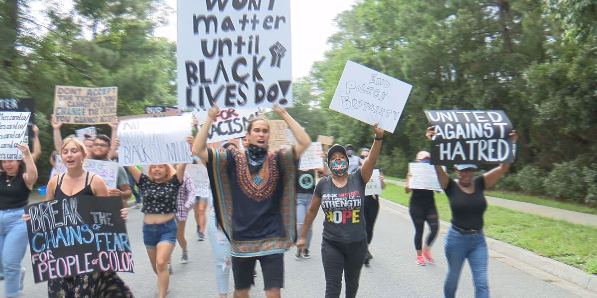 Bluffton marches for Black Lives Matter movement