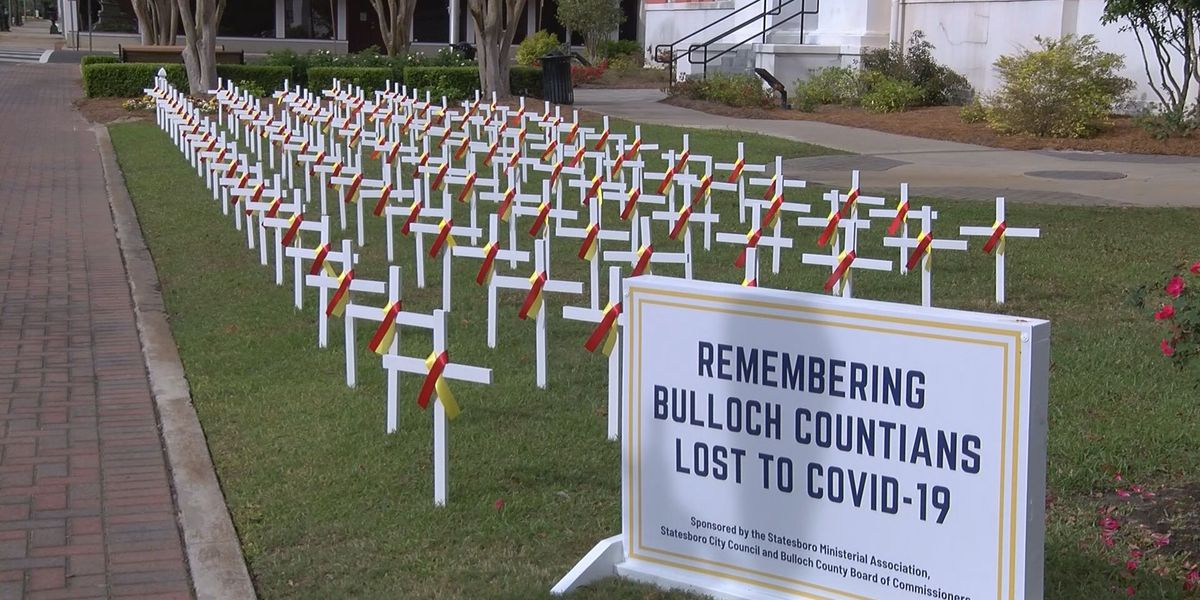 Statesboro community recognizes anniversary with memorial for those lost to COVID-19