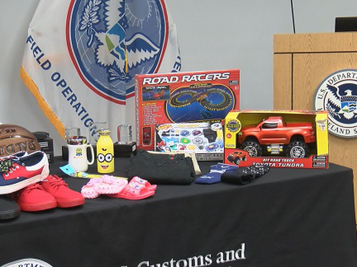 Over $6 million in counterfeits seized at Port of Savannah this year