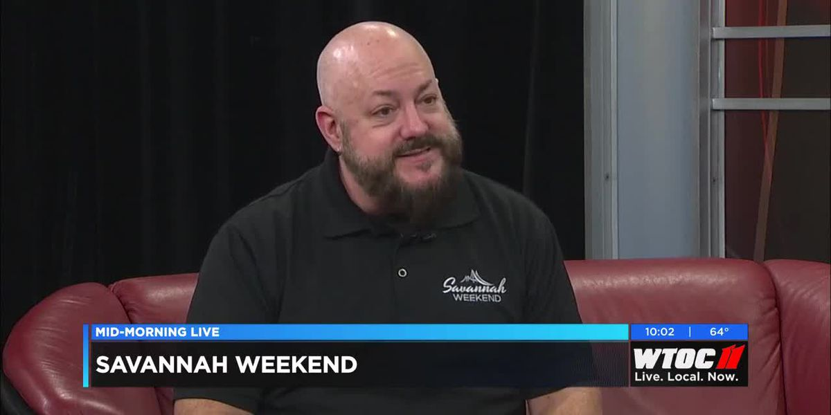 Savannah Weekend's Brian Byers drops by every Friday to talk about local events and attractions